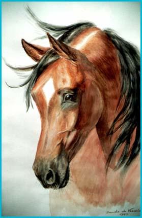Arte dal cosmo di sandro da verscio for Immagini disegni cavalli